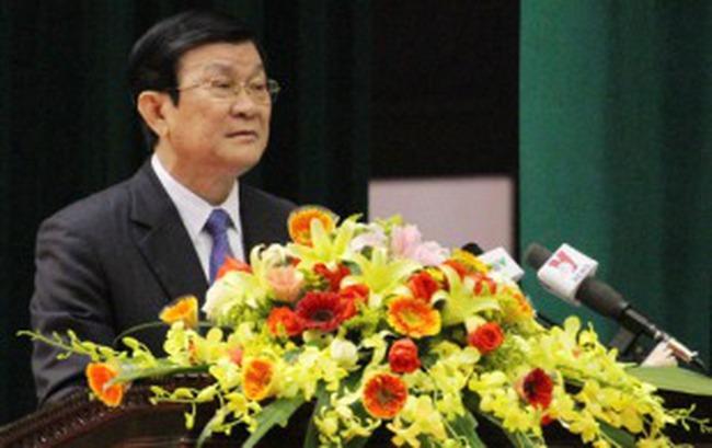 Ông Trương Tấn Sang được đề cử làm Chủ tịch nước
