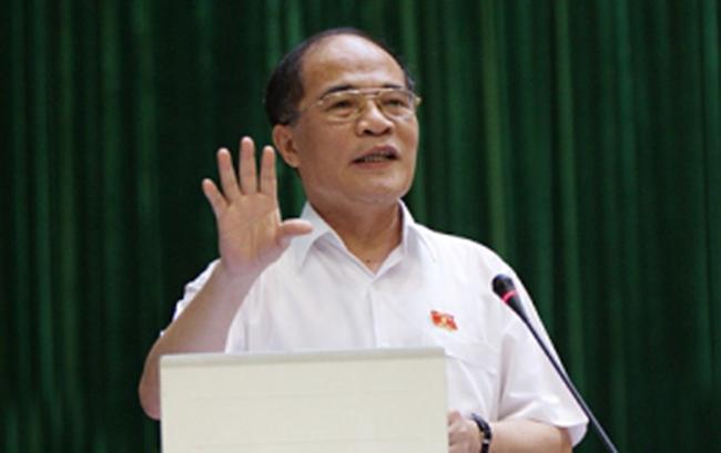 Ông Nguyễn Sinh Hùng đắc cử Chủ tịch Quốc hội