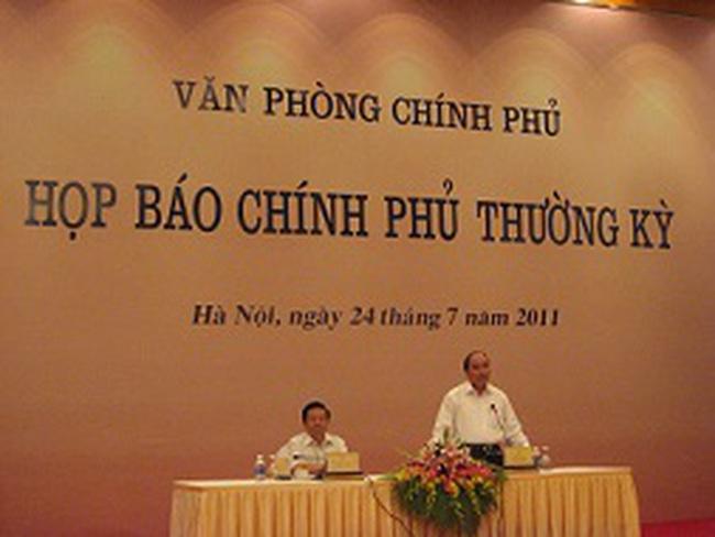 Họp báo CP tháng 7: Nhập siêu từ Trung Quốc khoảng 7,6 tỷ USD
