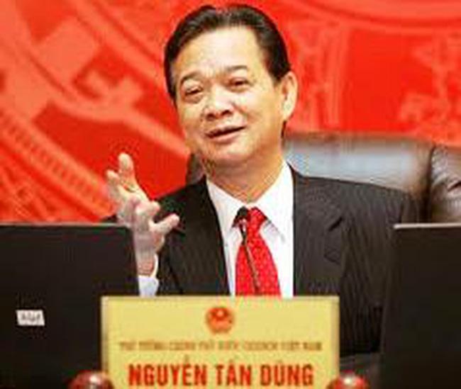 Ông Nguyễn Tấn Dũng được đề cử tiếp tục giữ chức Thủ tướng nhiệm kỳ 2011-2016