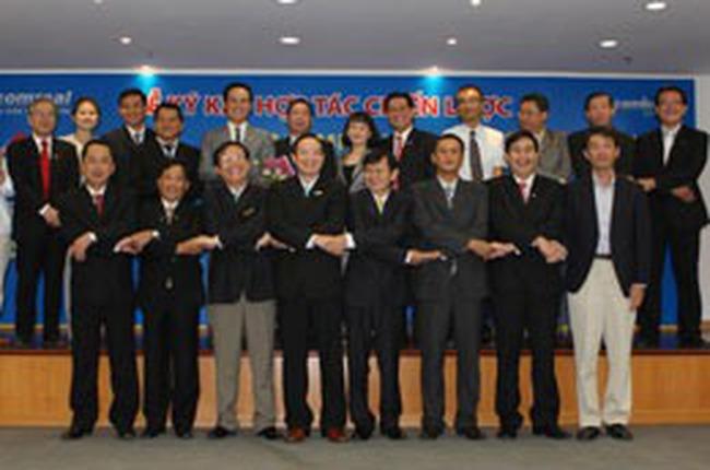 Địa ốc Sacomreal hợp tác chiến lược với 8 đối tác triển khai các dự án