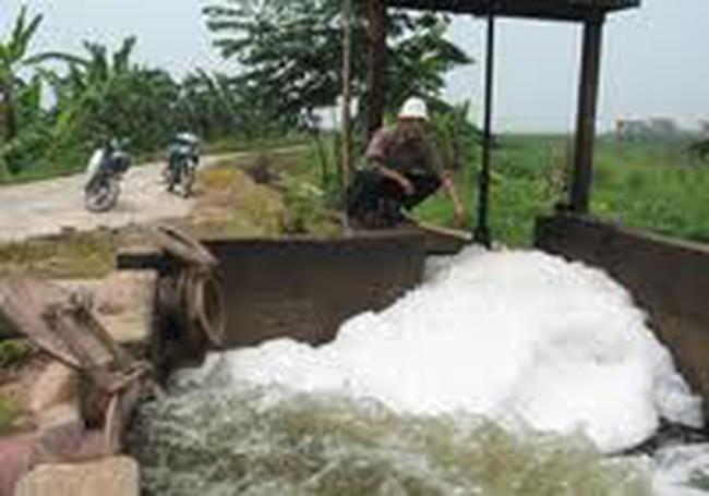 """Khu Công nghiệp Sài Đồng B: """"Kẻ ám sát"""" sông Cầu Bây"""
