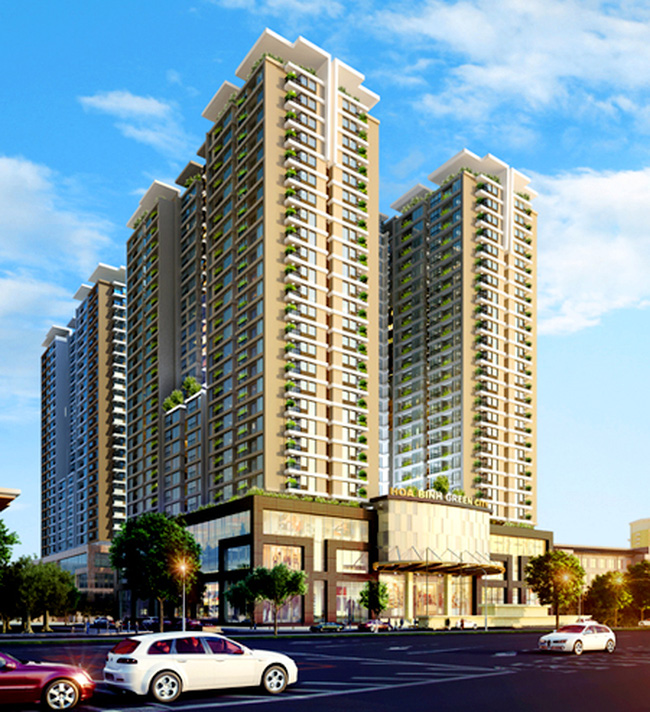 Tháng 9/2011 Savills Việt Nam độc quyền bán căn hộ Hòa Bình Green City