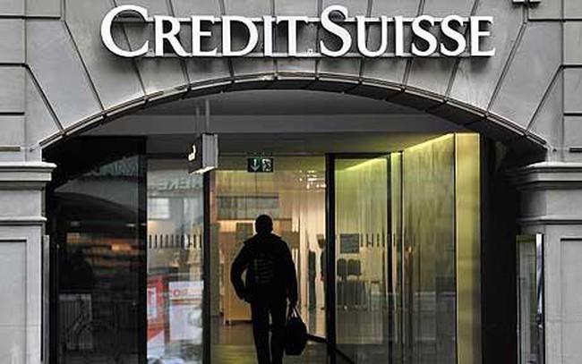 Lợi nhuận của Credit Suisse sụt 52% do kinh tế toàn cầu khó khăn
