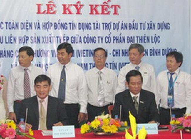 CTG: Tài trợ 250 tỷ đồng xây khu liên hợp sản xuất thép Đại Thiên Lộc