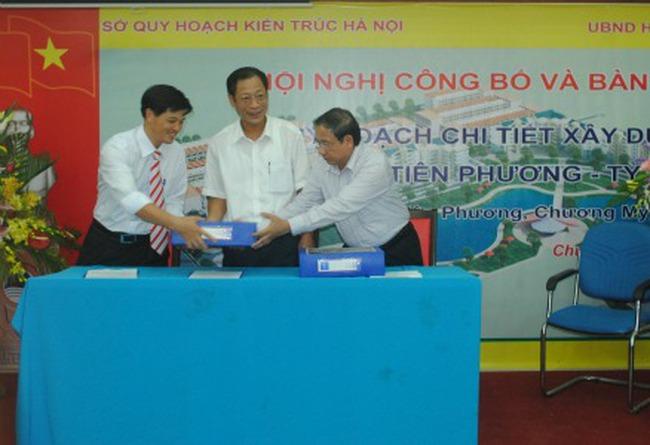 Hà Nội: Công bố và bàn giao quy hoạch chi tiết xây dựng khu nhà ở 46.000 m2