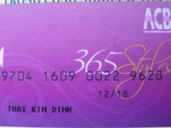 """Hacker thẻ ATM ACB: 40 triệu đồng """"tự đến"""", 30 triệu đồng """"tự đi"""" ?"""