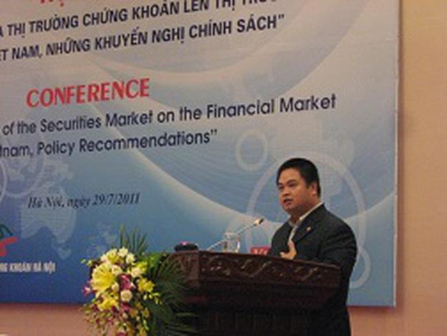 P.TGĐ Sở GDCK Hà Nội: TTCK suy giảm còn bởi chính chất lượng doanh nghiệp niêm yết