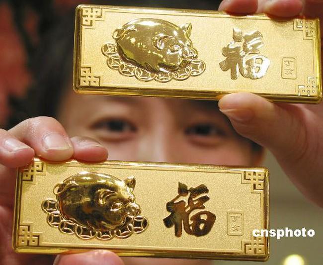 Trung Quốc sẽ vượt Ấn Độ về nhu cầu vàng trong năm nay