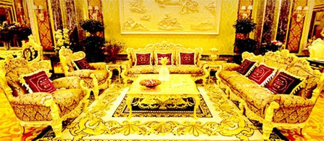 Dùng 6 tấn vàng xây khách sạn Swisshorn Gold Palace