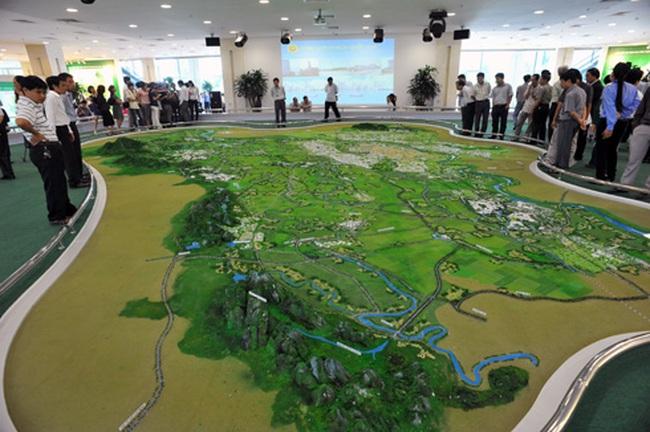 Từ 1/8 người dân được xem quy hoạch Hà Nội miễn phí