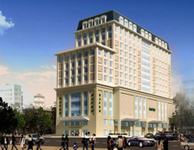 Hapro Centre: Hoàn thành phần thân vào tháng 9/2011