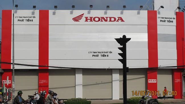 Nhà đất diện thu hồi…vẫn khai trương đại lý Honda?