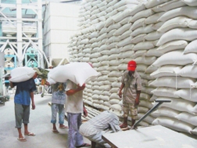 Giá gạo xuất khẩu có thể tăng cao