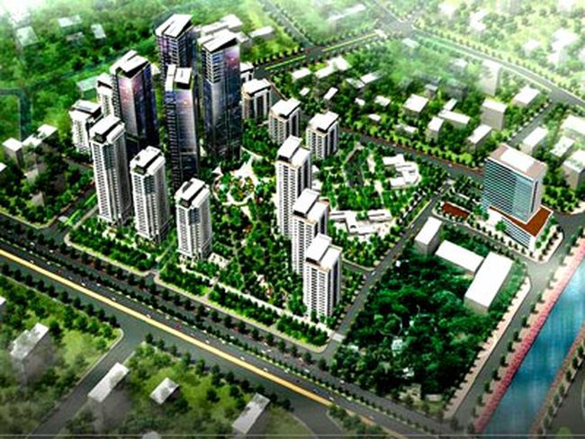 Quý 4/2011: Khởi công Khu ĐTM Hồng Hà Eco City tại Thanh Trì