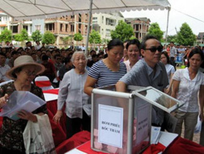 Căn hộ dự án nhà thu nhập thấp NO 10A Sài Đồng: Khách hàng phản ánh giá quá cao