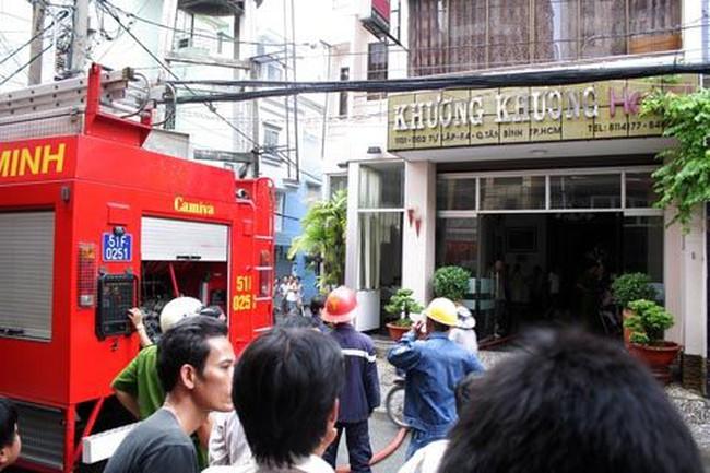 Cháy khách sạn 5 tầng ở TP HCM