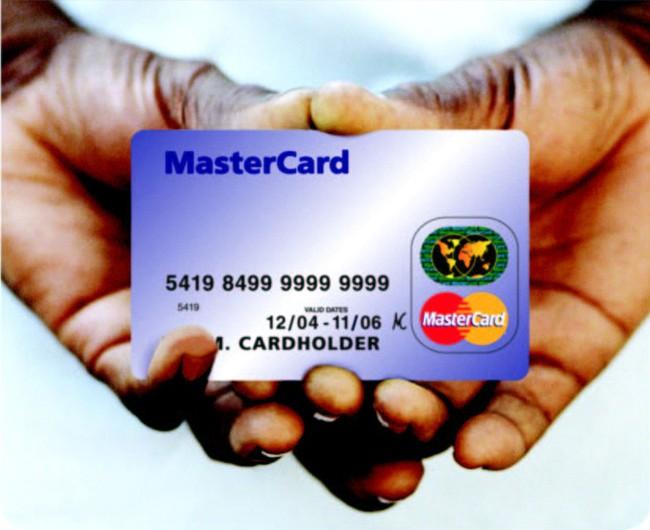 MasterCard lãi 608 triệu USD trong quý 2/2011