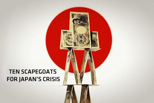 """10 """"tội đồ"""" của khủng hoảng tại Nhật"""