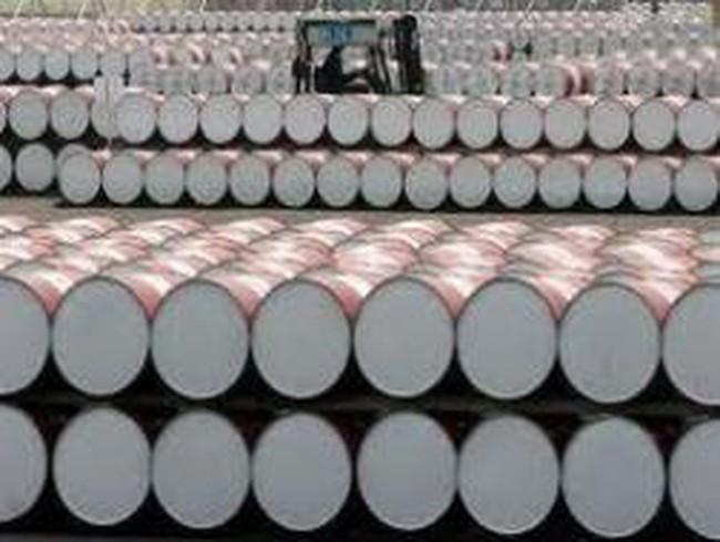 Giá dầu thô giảm thêm 4,3% xuống 82,87 USD/thùng