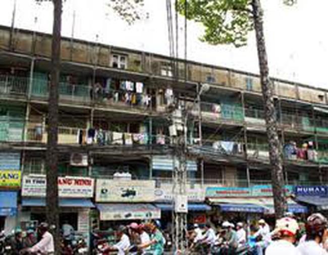 Hà Nội có hơn 1000 chung cư cũ