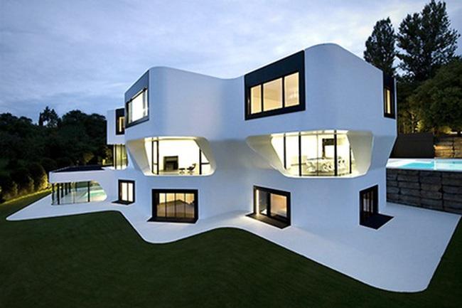 Những thiết kế nhà ở độc đáo nhất