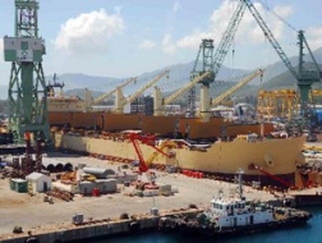 Vinashin đặt ky đóng mới cùng lúc 3 chiếc tàu lớn