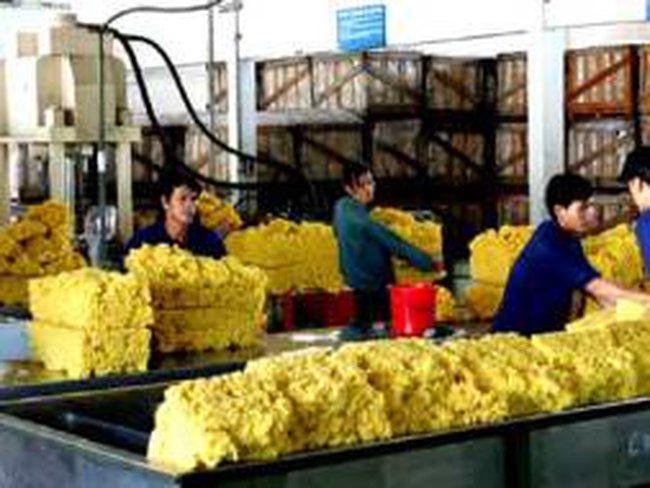 Xuất khẩu cao su sang Trung Quốc chiếm gần 70%