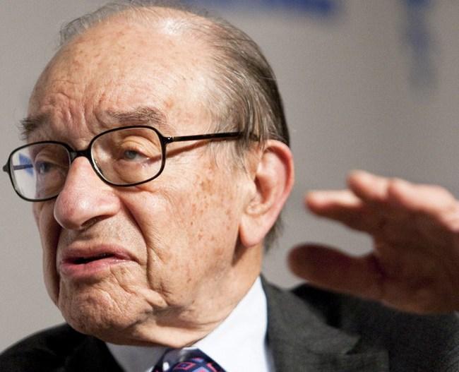 Alan Greenspan tin kinh tế Mỹ không suy thoái kép