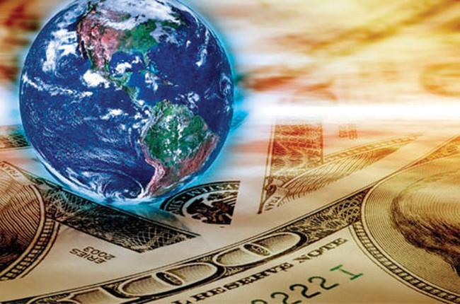 """""""Siêu bão"""" tài chính càn quét thế giới"""