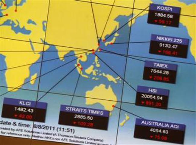 TTCK toàn châu Á sụt giảm mạnh, TTCK Hàn Quốc mất 6%