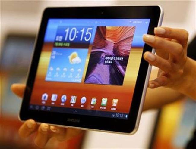 Samsung tạm thời bị cấm bán máy tính bảng tại châu Âu