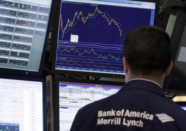 Sụt 520 điểm, Dow Jones rời xa mốc 10.800 điểm