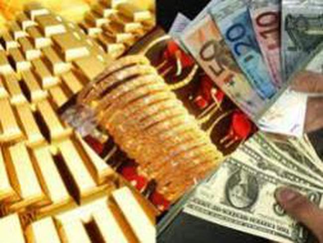 Giá vàng tăng trở lại mức 44,85 triệu đồng/lượng
