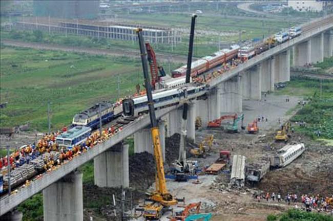 Tàu cao tốc Trung Quốc tai nạn do thiết kế