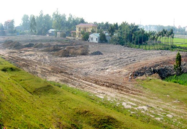GPMB hàng loạt ô đất trên địa bàn quận Hoàng Mai