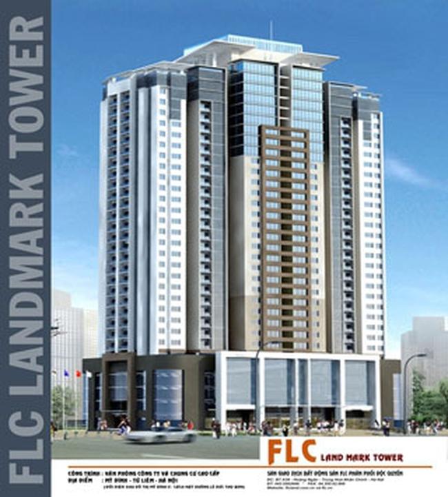 Tòa nhà FLC Landmark Tower sẽ đưa vào sử dụng vào tháng 01/2012