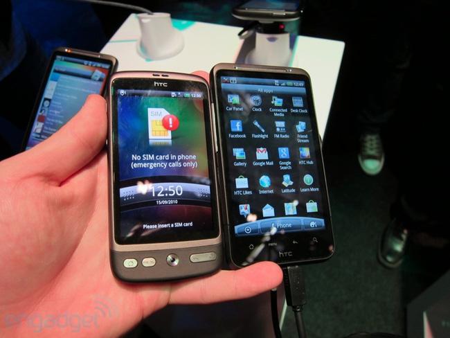 HTC kiện Apple vi phạm 3 bằng sáng chế