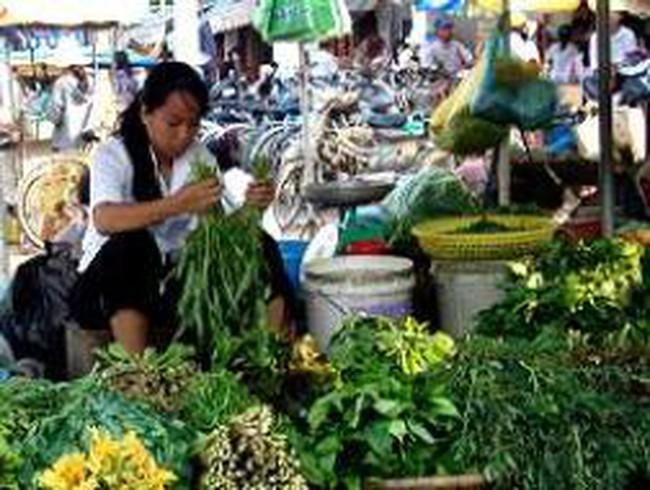 Long An: CPI tháng 8/2011 tăng 0,68%