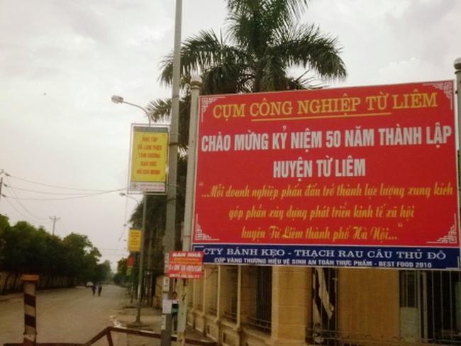Kết luận thanh tra tại Cụm Công nghiệp tập trung huyện Từ Liêm