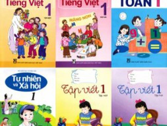 Sách giáo khoa lớp 1: Tăng cả giá lẫn sức mua