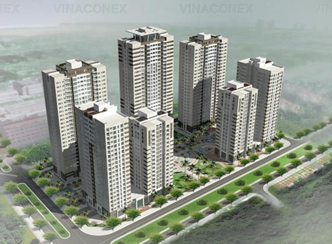 Vinaconex đầu tư khu nhà ở phức hợp tại Đà Nẵng