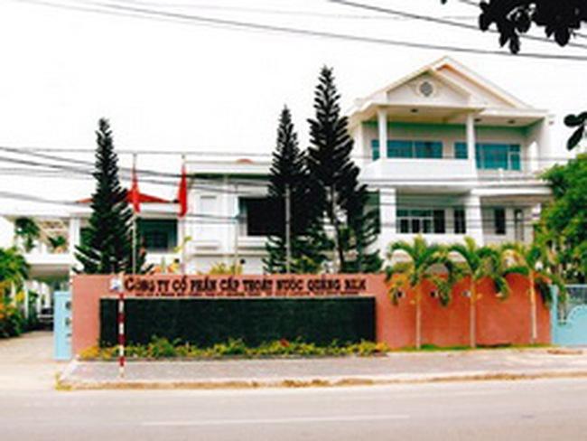 Cấp thoát nước Quảng Nam đăng ký niêm yết cổ phiếu tại HNX