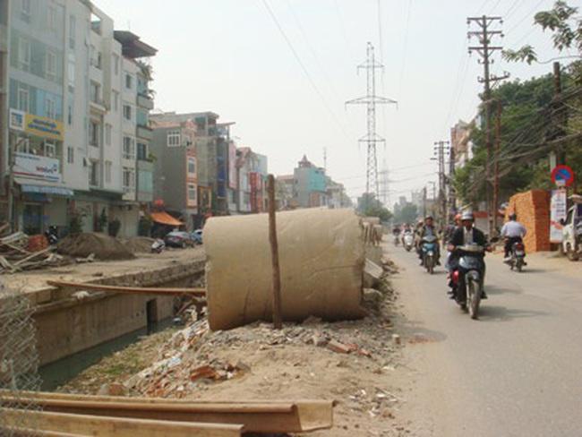 Đường Cát Linh–La Thành–Thái Hà–Láng dự kiến thông xe vào cuối 2011