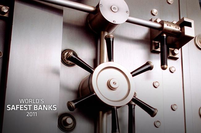 Những ngân hàng an toàn nhất thế giới năm 2011 (1)