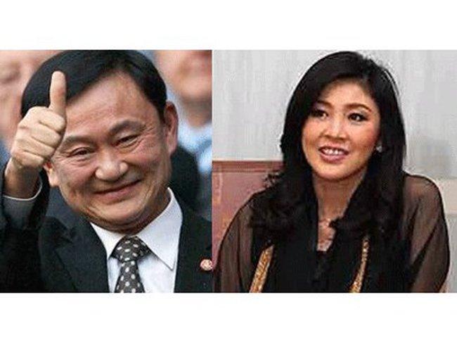 Ông Thaksin tạo rủi ro cho sự nghiệp của bà Yingluck