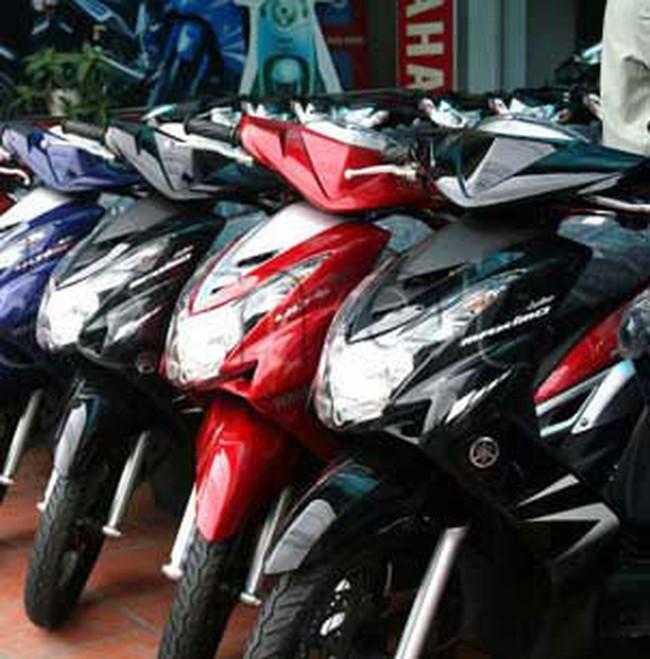 Giá xe máy thấp nhất trong năm