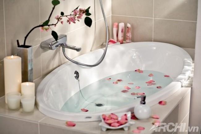 Trang trí phòng tắm nhỏ theo phong cách Nhật