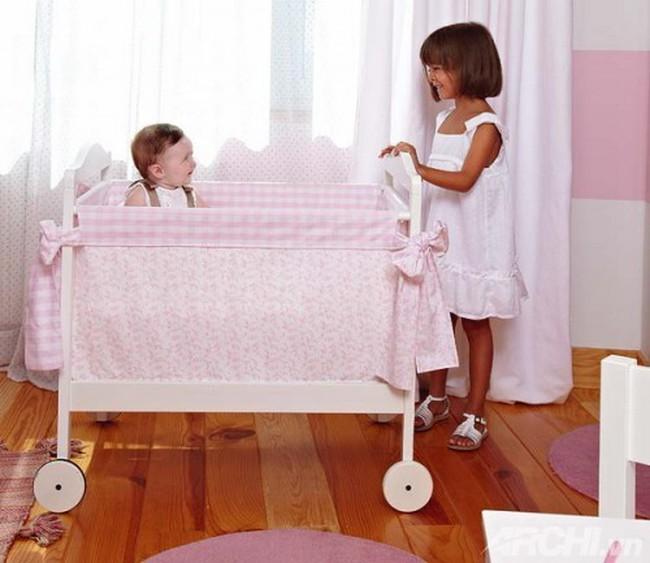 5 thiết kế phòng tuyệt vời dành cho bé gái