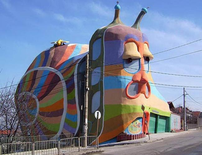 Những tòa nhà có kiến trúc lạ nhất thế giới